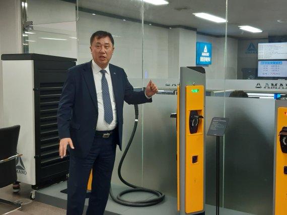 """〔로컬 포커스 강소기업 CEO를 만나다〕주차시스템 일본에 역수출…""""품질과 타협하지 않는다"""""""