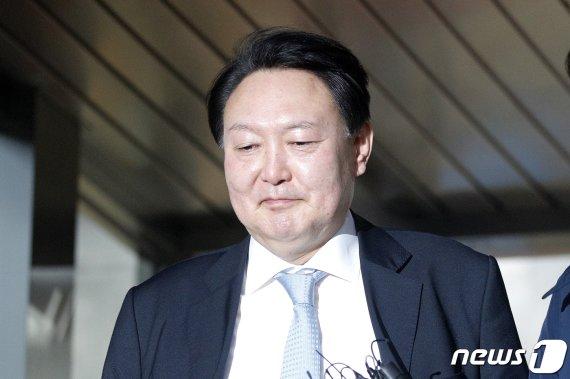 """윤석열, 검경수사권 조정안 국회 통과에 """"국회결정 존중"""""""