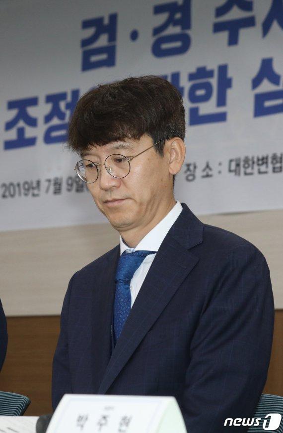 """'검사내전 저자' 김웅 검사 사의.. """"살아있는 권력에 맞서 자부심"""""""