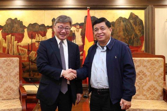 가스공사 사장, 베트남 부총리와 에너지 사업 협력방안 논의