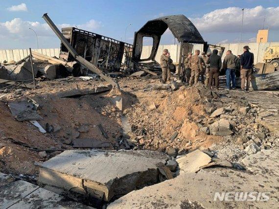 이라크 바그다드 주재 미국대사관 겨냥 로켓탄 공격
