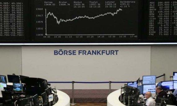 유럽 주식시장, 초반 3%대 폭락세…3년래 최대폭
