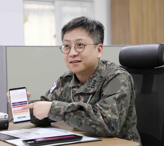 군의관 허준녕 대위, 코로나 중증도 분류앱 개발