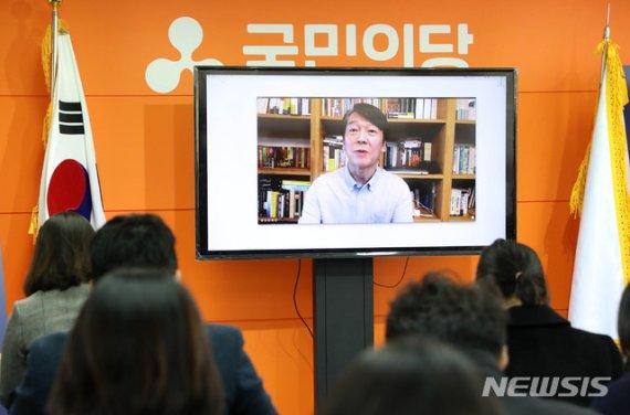 """안철수 """"정당투표 20% 목표…거대양당 견제하는 '메기'될 것"""""""