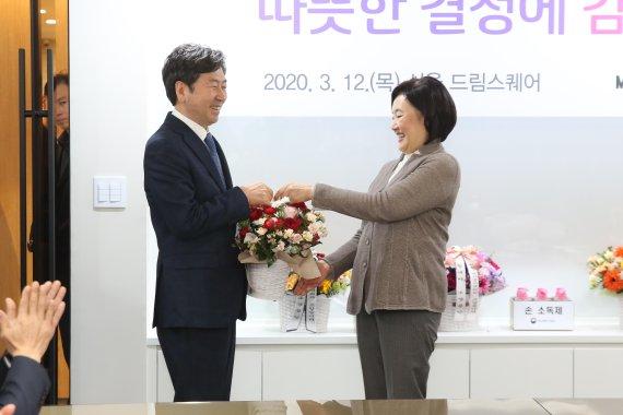 코로나19 국면에서 돋보이는 '착한 박영선' 행보