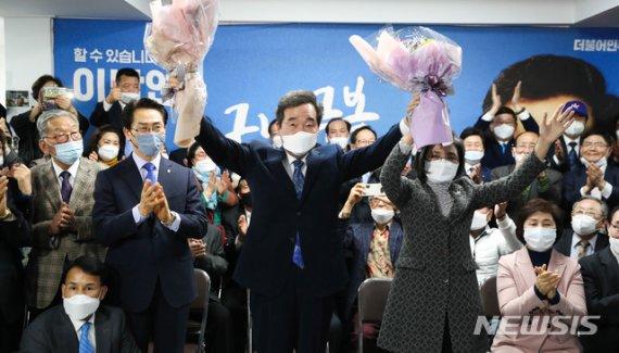 민주당 단독 180석 달성 유력…1987년 개헌 이후 처음(종합)