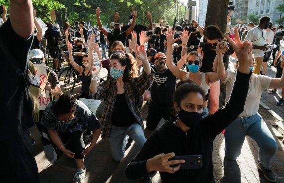 美시위 감염 경로되나…워싱턴DC, 코로나19 다시 급증