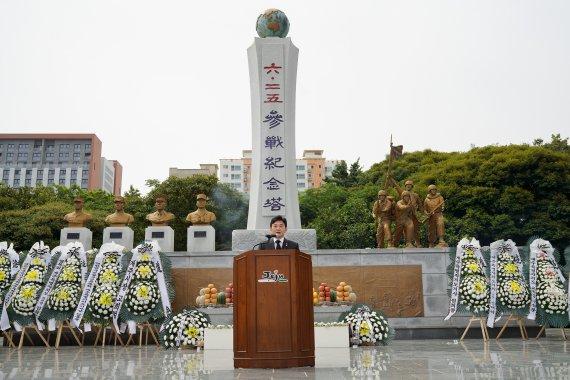 """원희룡 지사 """"튼튼한 안보가 최우선…보훈의 핵심 가치"""""""