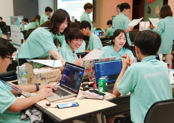 IT기술로 더나은 미래 청소년들에 선물합니다