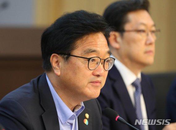 """우원식 """"기본소득, 빅데이터 시대 국민에 정당한 배당"""""""
