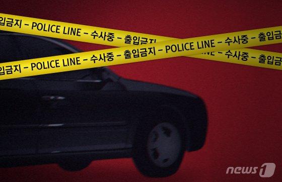 공터에 주차된 택시서 발견된 男시신, 3일 동안..