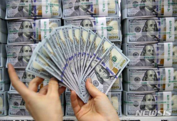 6월 외환보유액 4107억달러… '사상 최대'
