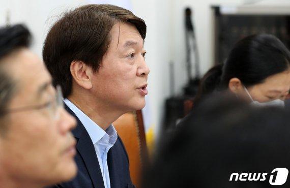 """안철수 """"대권 후보들 표계산 기본소득 논의에서 벗어나야"""""""