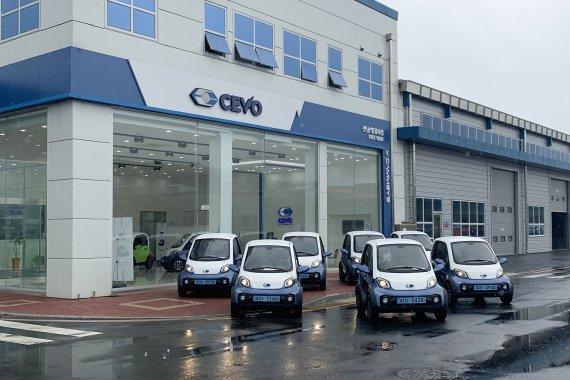캠시스, 전남도청에 초소형 전기차 'CEVO-C' 7대 공급