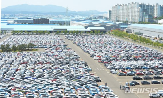 韓 수출 바닥쳤나…4개월 만에 한 자릿수대 감소 진입(종합)