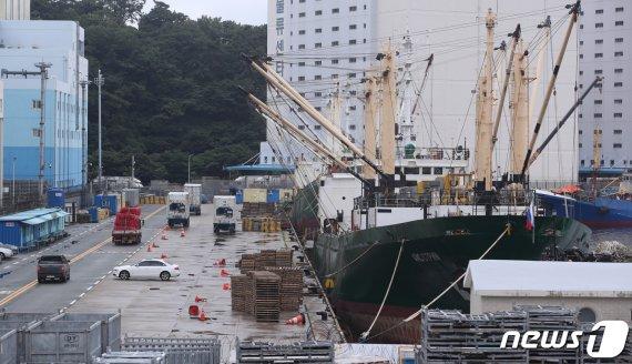 부산항 러 선박서 또 확진자 2명 발생…지역 확진자도 1명