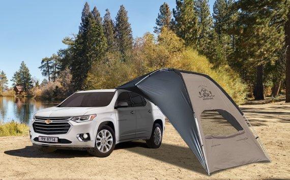 쉐보레, 8월 구매고객 최대 250만원 할인...캠핑용품 선물도
