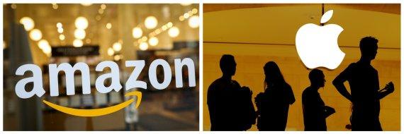 애플·아마존, 올 마지막 분기에 1000억달러 매출 경쟁