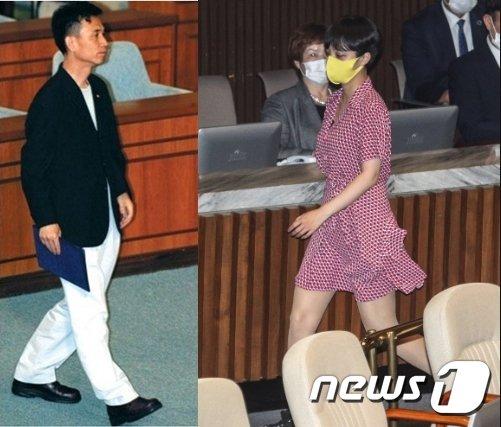 [fn팩트체크] 류호정 국회 반바지 등원?...복장규정은 없다