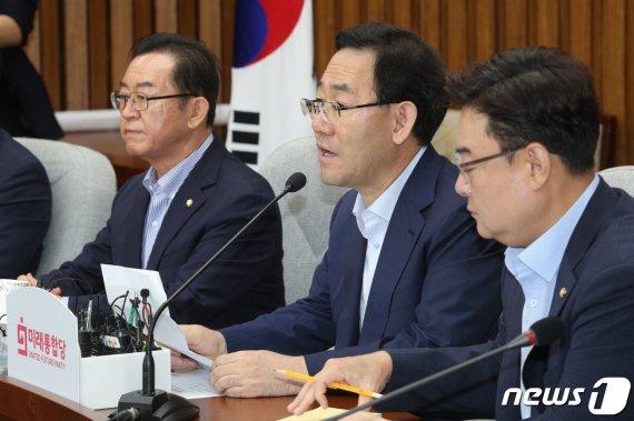 """민주 """"전광훈 집회 방조"""" 野 책임론…통합 """"우리가 뭘 했다고"""""""