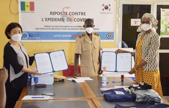 연세의료원-코이카, 세네갈 코로나19 대응 지원