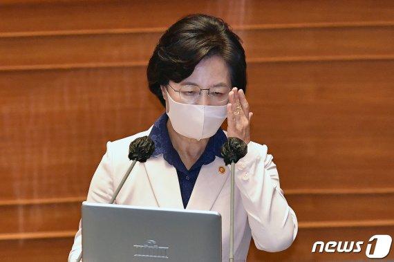 """조현천·나경원 수사 지적에 추미애 """"윤석열 총장의.."""""""