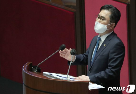 김종민 의원이 폭로한 추미애 장관 부부의 사생활