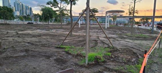 [팩트체크]반포한강공원 잔디밭 갈아엎어진 이유는?