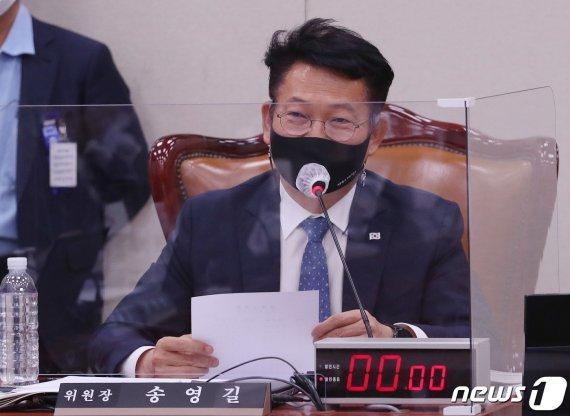 """송영길 """"북미 적대관계 지속되면 北 SLBM 발사할 수도"""""""