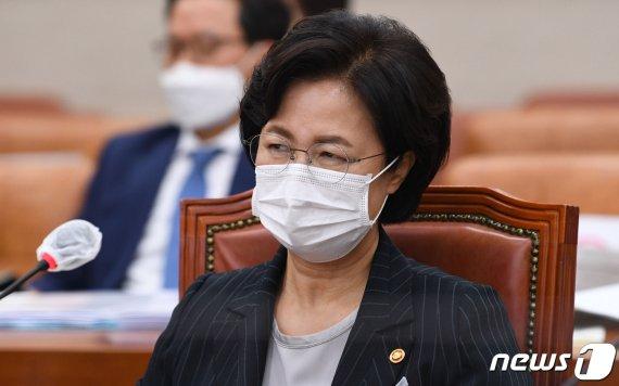 """추미애 발끈.. """"중앙일보, 사사건건 감정적기사.."""""""