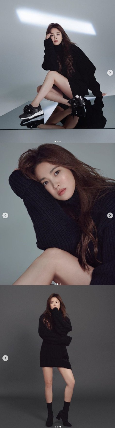 [N샷] 송혜교, 40대에도 여전한 동안 미모…각선미까지 '완벽'