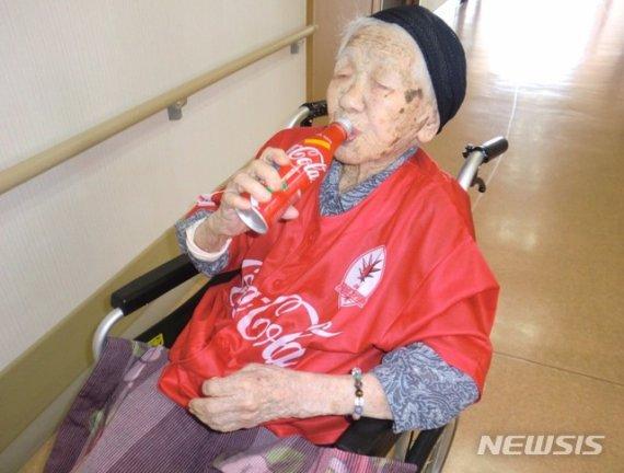 日 117세 최고령 할머니, 내년에 하는 놀라운 일