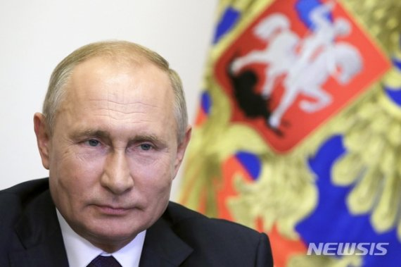 """푸틴, APEC 정상들에 """"러시아 코로나19 백신 제공 가능"""""""