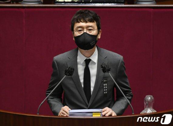 """김웅 """"'사전투표 이겼다'는 박영선, 진심일 수도"""""""