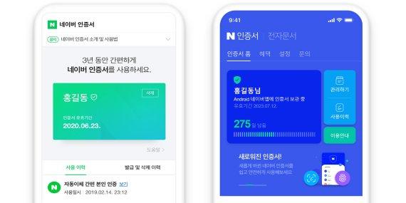 네이버 신분증· 카카오 연말정산 '막오른 국민인증서 경쟁'