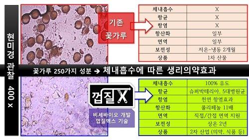 비센바이오, 코로나 대항 슈퍼푸드 오늘화분(껍질벗긴 꽃가루) 출시