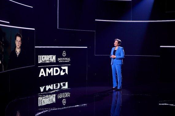 """[CES 2021] 리사수 """"AMD, 데이터센터용 프로세서 출시할 것"""""""