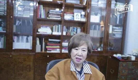 """손혜원 """"양정철, 文이 쳐낸 사람 …또 기어 들어와 차기 주자에 접근할 것"""""""