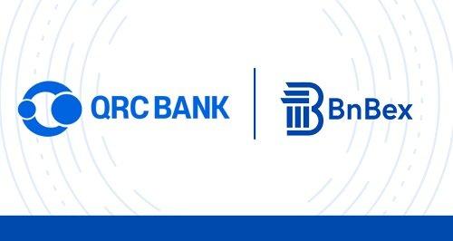 큐알씨뱅크(QRC BANK), 글로벌 암호화폐 거래소 BnBex와 업무협약 체결