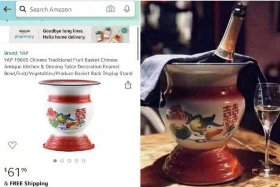 아마존 인기, 예쁜 '빵 담는 도자기'..중국 반응은 '화들짝'