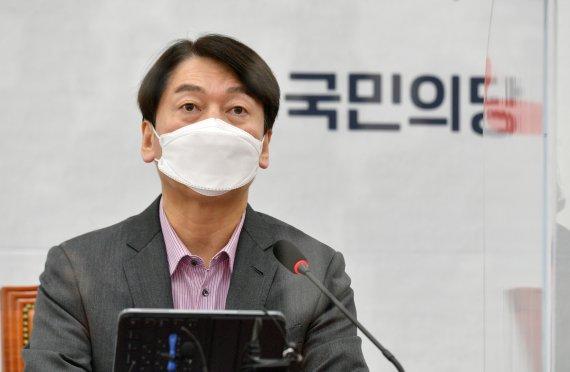 """윤석열 대선 가면 돕겠냐?…안철수 """"낙선땐 몰라도, 서울시장이 어떻게"""""""