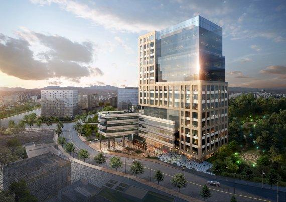 '광교 플렉스 데시앙', 특화시설 및 쾌적환 업무환경 구축