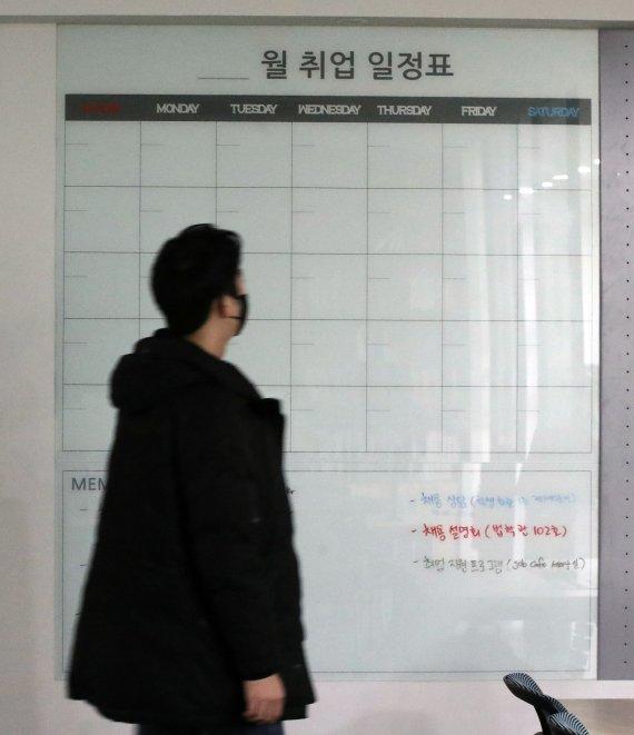 """""""취직보다 코로나 종식이 빠를 듯""""…취준생 85만명 '사상 최대'"""