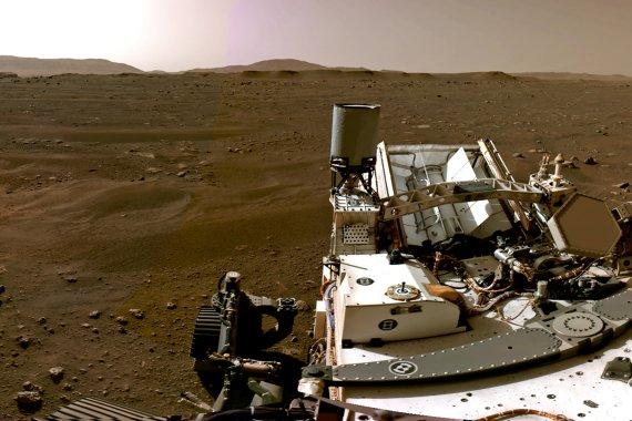 드론, 화성 영하 90도서 첫날밤 견뎠다