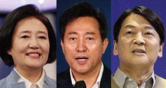'오세훈이냐 안철수냐' 단일화 마지막 변수..박영선은 뒤집기 고심