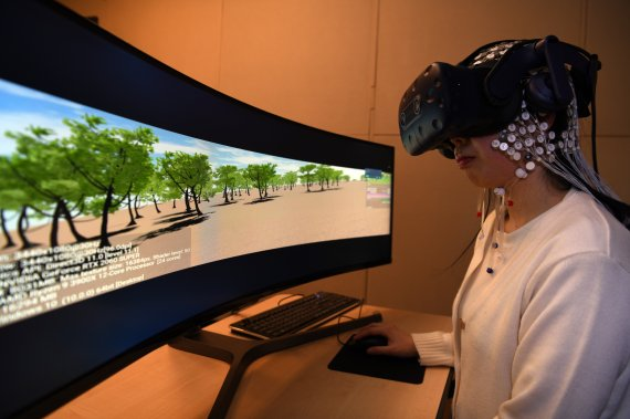 VR 멀미를 뇌파로 알아냈다