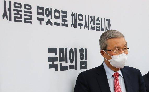 """오세훈 야권 단일후보 선출.. 김종인 """"안철수, 결국 항상.."""""""