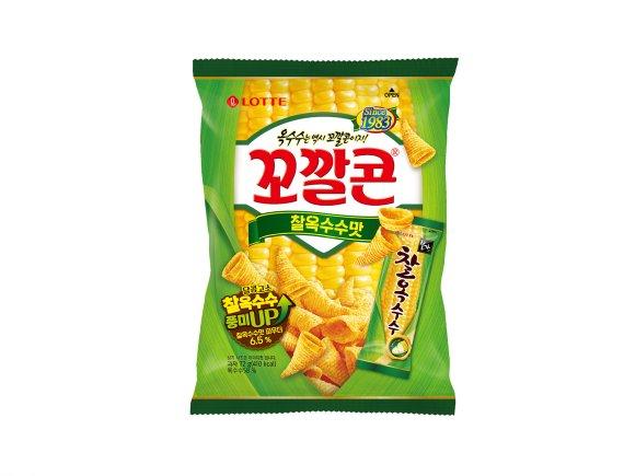 롯데제과, '꼬깔콘 찰옥수수맛' 출시
