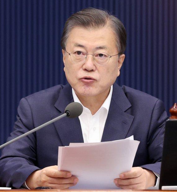 """吳 """"공시가격 개선 필요""""...文 """"부처와 서울시 입장 같아야"""""""