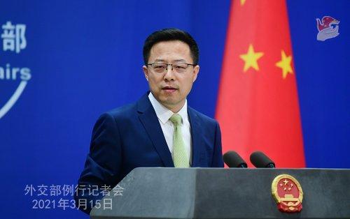 中외교부 대변인 '오염수 방류 패러디' 게재에 日외무상 '발끈'